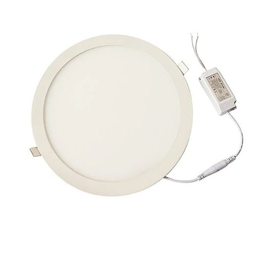 Kerek LED panel (300mm) 24W - white